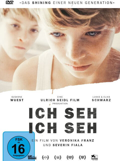 DVD-Cover Ich seh, ich seh