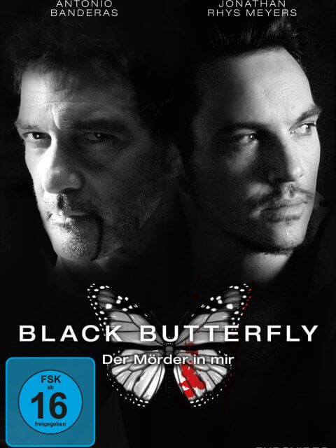 DVD-Cover Black Butterfly